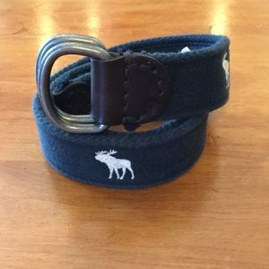 Abercrombie & Fitch Reindeer Fabric Belt